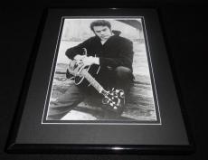 Neil Diamond 1967 holding guitar Framed 11x14 Photo Display
