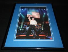 Neil Diamond 2001 Madison Square Garden Concert Framed 11x14 Photo Display