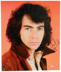 """Neil Diamond Autographed 20""""x 24"""" Portrait Stretched Canvas - BAS COA"""
