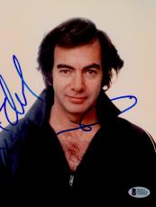 "Neil Diamond Autographed 8""x 10"" Black Shirt Photograph - BAS COA"