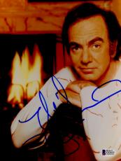"Neil Diamond Autographed 8""x 10"" Fireplace Photograph - BAS COA"
