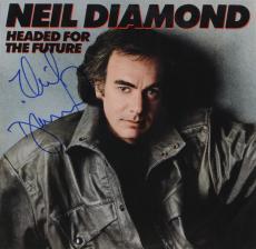 Neil Diamond Autographed Headed For The Future Album Cover - PSA/DNA COA