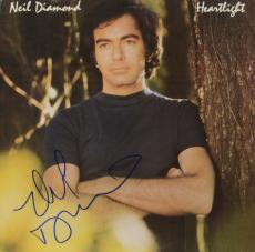 Neil Diamond Autographed Heartlight Album - PSA/DNA COA