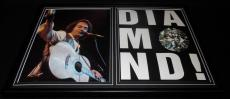 Neil Diamond Framed 12x18 Photo Display