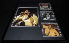 Neil Diamond Framed 16x20 Photo Display