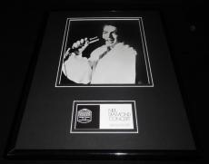 Neil Diamond in Concert 1976 Aladdin Theatre Framed 11x14 Photo Display