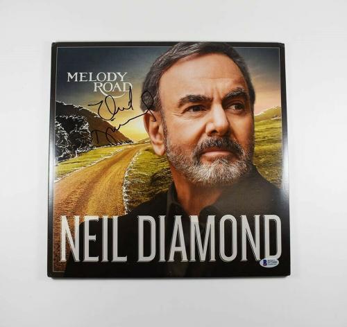 Neil Diamond Melody Road Autographed Signed Album LP Record Authentic BAS COA