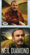 Neil Diamond Melody Road Autographed Signed CD Certified Authentic PSA/DNA COA