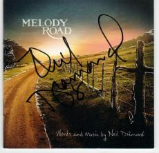 Neil Diamond Melody Road signed CD Cover from Beckett BAS Authentic auto