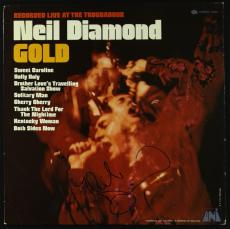"Neil Diamond Music Legend Signed Autographed ""gold"" Album Cover Jsa Coa Rare"