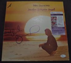 Neil Diamond Music Legend Signed Autographed Album Cover Jsa Coa #r94503 Rare