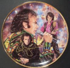 "Neil Diamond Music Legend Signed Autographed Gartlan ""10"" Collectible Plate Coa"