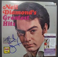 Neil Diamond Music Legend Signed Autographed Greatest Hits Album Jsa Coa #q32052