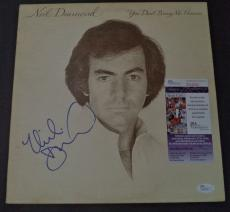 Neil Diamond Music Legend Signed Autographed Album Cover Rare Jsa Coa #r94500