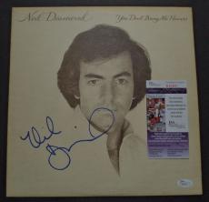Neil Diamond Music Legend Signed Autographed Album Cover Rare Jsa Coa #r94501
