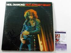 Neil Diamond Signed 2-Record Set Album Recorded Live Hot August Night  JSA AUTO