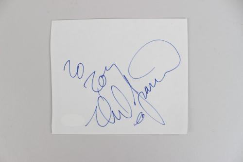 Neil Diamond Signed Album Page – COA JSA