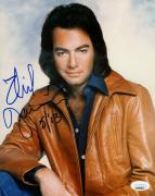 Neil Diamond Signed Autographed 8X10 Photo Vintage Leather Jacket JSA BB59841