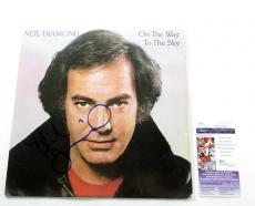 Neil Diamond Signed LP Record Album On The Way To The Sky w/ JSA AUTO