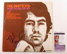 Neil Diamond Signed LP Record Album Velvet Gloves and Spit w/ JSA AUTO