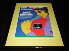 Neil Diamond The Jazz Singer 1981 Framed 11x14 Repro Poster Display