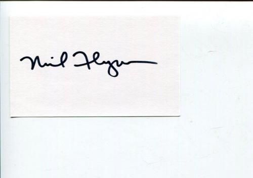 Neil Flynn The Middle Scrubs Janitor Indiana Jones Mean Girls Signed Autograph
