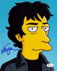Neil Gaiman Signed 8x10 Photo w/JSA COA P26794 The Simpsons