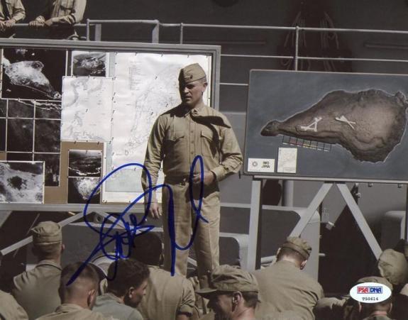 Neil Mcdonough Captain America Signed 8X10 Photo PSA/DNA #T50614