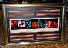NEIL PEART RUSH signed autographed LITHOGRAPH framed tour drumsticks LITHO 2006