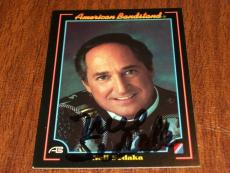 Neil Sedaka Signed Auto 1993 Collect a Card American Bandstand Card #18 K
