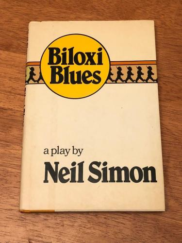 Neil Simon Matthew Broderick Biloxi Blues Signed Autograph 1st Edition HB Book