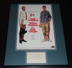 Neil Simon Signed Framed Odd Couple 16x20 Photo Poster Display