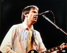 Neil Young Buffalo Springfield Signed 16X20 Photo BAS #B38839