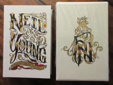Neil Young Limited Edition Cloth Bound Signed Book - Beckett BAS