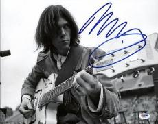 Neil Young Signed 11x14 Photo Autographed Psa/dna #x31217