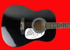 Neil Young Signed Acoustic Guitar Autographed BAS #B03508