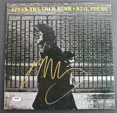 Neil Young Signed 'After The Cold Rush' Album Cover W/ Vinyl PSA/DNA #AB81550