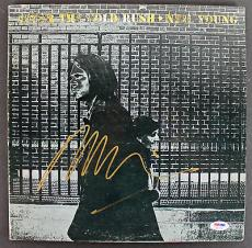 Neil Young Signed 'After The Gold Rush' Album Cover PSA/DNA #AB81058