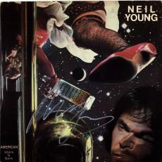 Neil Young Signed American Stars N Bars Album Cover AFTAL UACC RD