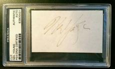 Neil Young Signed AUTHENTIC AUTOGRAPH PSA/DNA Mint