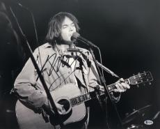 Neil Young Signed Autographed 16x20 Photo Southern Man Csny Beckett Coa B41485