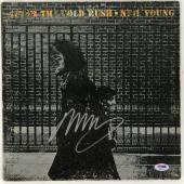 Neil Young Signed Autographed After The Gold Rush Record Album Psa/dna Ab81172