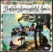 Neil Young Signed Buffalo Springfield Again Record Album Cover Psa/dna Ab81169