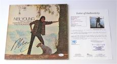 Neil Young Signed Everybody Knows This Is Nowhere Record Album Jsa Loa Y57079