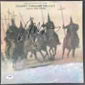 Neil Young Signed Journey Through The Past Record Album Psa/dna Ab43395