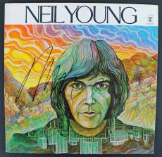 Neil Young Signed 'Neil Young' Album Cover PSA/DNA #AA55170