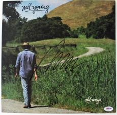 Neil Young Signed Old Ways Record Album  Psa/dna #x22428