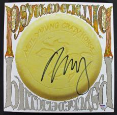 Neil Young Signed 'Psychedelic Pill' Album Cover W/ Vinyl PSA/DNA #AB81055