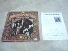 Neil Young Stephen Stills Buffalo Springfield Signed Autograph LP PSA Certified