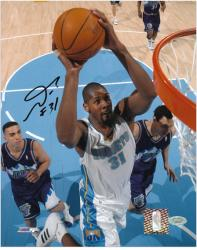 "Nene Hilario Denver Nuggets Autographed 8"" x 10"" Close Up Photograph"